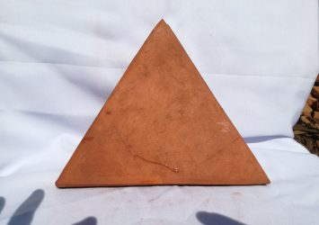 Terracotta Ceramics Plane (Equilateral Triangle)